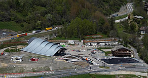 Skyway Monte Bianco - Pontal d'Entréves cable car station