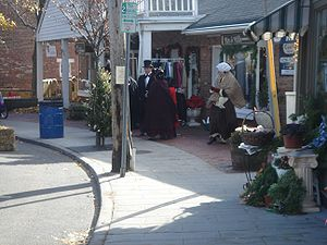 Charles Dickens Festival in Port Jefferson, Lo...