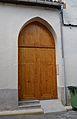 Porta de l'església de sant Roc de Benialí.JPG