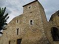 Portals, un sector de muralla i una torre quadrada de l'Hospital (Calaf) - 2.jpg