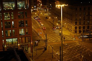 Portland Street, Manchester street in Manchester, United Kingdom