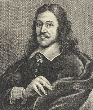 Bonaventura Peeters the Elder - Portrait of Bonaventure Peeters, by Wenceslas Hollar