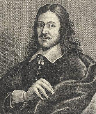 Bonaventura Peeters the Elder - Portrait of Bonaventure Peeters, by Wenceslas Hollar