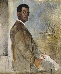 Porträt des Vaters Franz Heinrich Corinth