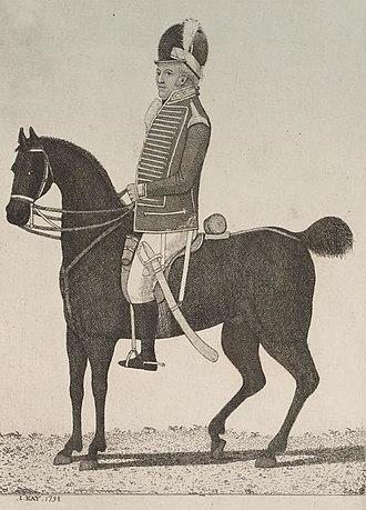 Sir George Nugent, 1st Baronet - George Nugent, Pembroke Cavalry, 1798