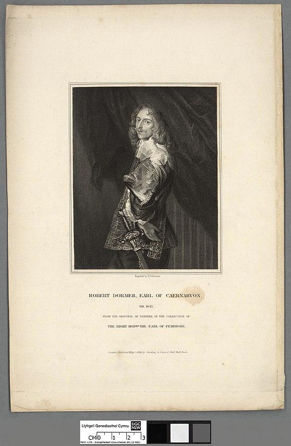 Robert Dormer, Earl of Caernarvon, OB 1643