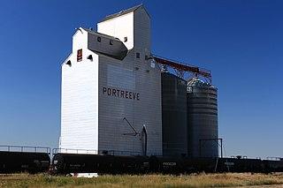 Portreeve, Saskatchewan Unincorporated community in Saskatchewan, Canada