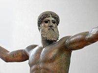 Голова бронзового бога з мису