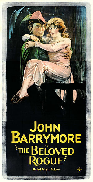 The Beloved Rogue - Original theatrical poster