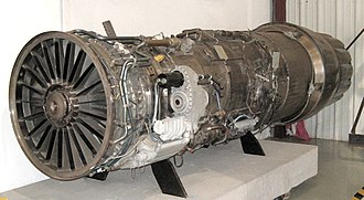 Pratt & Whitney TF30 - A TF30 in the Valiant Air Command Warbird Museum, Titusville, Florida