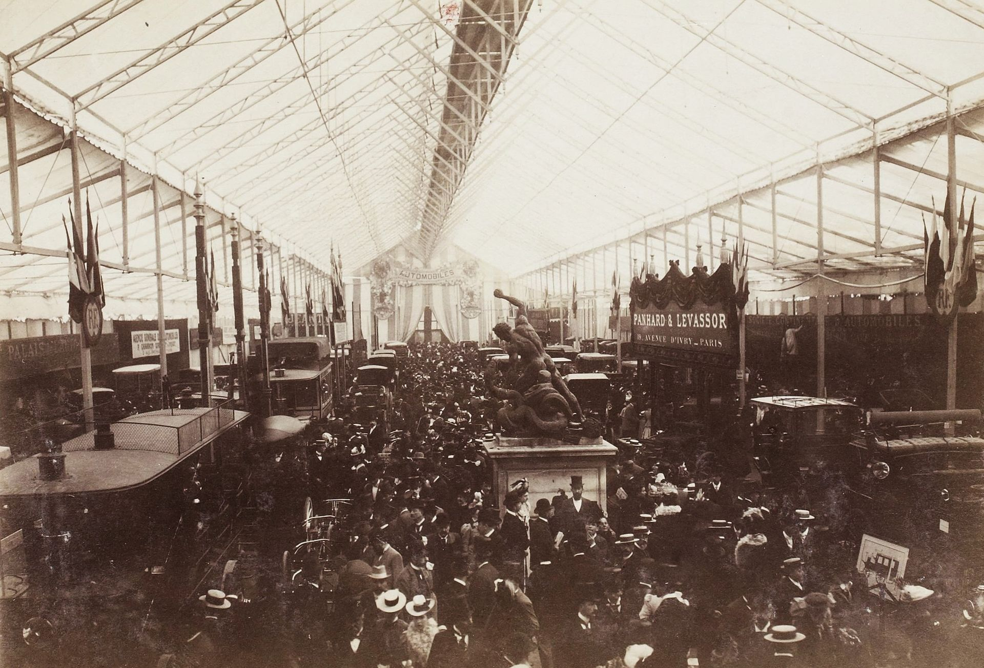 A Plus Auto >> Salon de l'automobile de Paris 1898 — Wikipédia