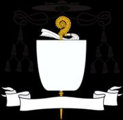 Insígnias abaciais para brasão d'armas de um abade
