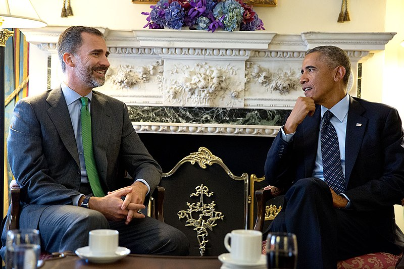 Dosya:President Barack Obama and King Felipe VI of Spain, 2014.jpg
