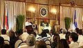 President Rodrigo Duterte at Malacañan's Rizal Hall.jpg