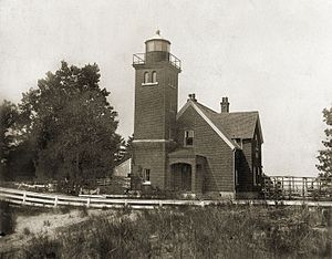 Presque Isle Light - Presque Isle Light in 1885