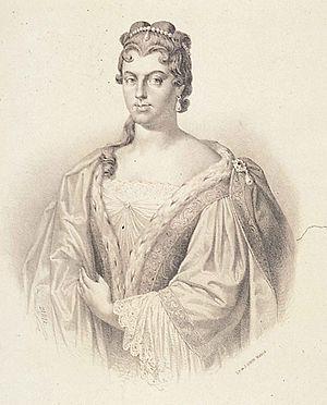 Marie Anne de La Trémoille, princesse des Ursins - Marie-Anne, later the princesse des Ursins