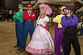 Princess peach and her Mario-Wario group - C2E2 2015 (17095829858).jpg