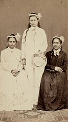Princesse Joinville, Miss Rhéo and Mavemundu Titi, 1873.jpg