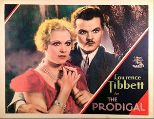 The Prodigal (1931 film) - Lawrence Tibbett and Esther Ralston