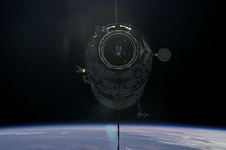 Progress M-SO1 - Progress M-SO1 approaching the ISS with Pirs