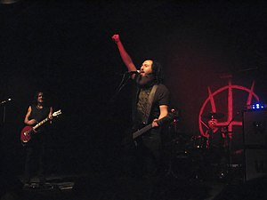Monte Pittman - Monte Pittman during Prong's 2007 Tour