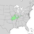Prunus hortulana range map 2.png
