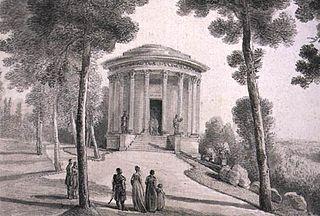 Temple of the Sibyl temple-like structure in Puławy, Poland, built as a museum by Izabela Czartoryska