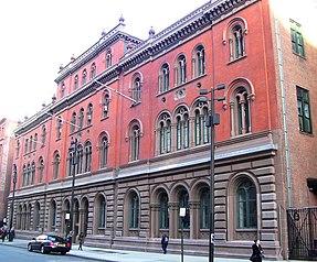 Publika Teatro Astor Biblioteko-Konstruaĵo de sout.jpg