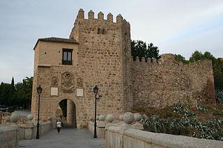 Puente de San Martín (Toledo) Medieval bridge in Toledo, Spain