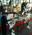 Pullen Park Carousel Animal - Horse with Patriotic Motif.jpg