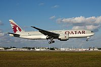 A7-BBB - B77L - Qatar Airways