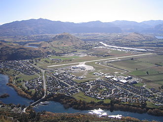 Frankton, Otago - Frankton Otago NZ from Peninsular Hill