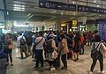 Queue at ticket counters of metro Beijing South Railway Station (20170523121042).jpg
