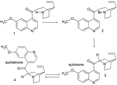 Quinine synthesis by Rabe & Kindler