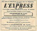 Réclame L'Express de Lyon-1921.jpg