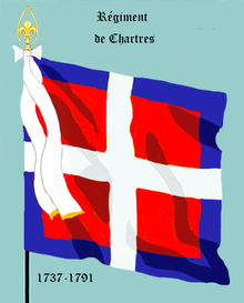 Image illustrative de l'article Régiment de Chartres (1691)