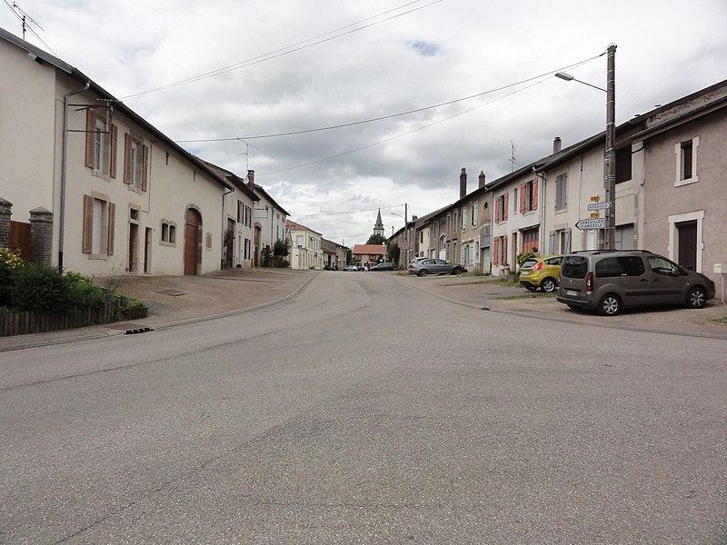 Réméréville (M-et-M) rue