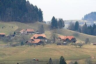 Rüschegg - Image: Rüschegg 1660