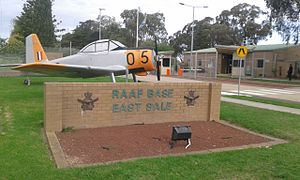 RAAF Base East Sale - RAAF Base East Sale Winjeel Gate Guardian
