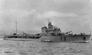 Freccia-class destroyer - Image: RCT Freccia cartolina