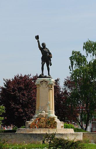 Ecaterina Teodoroiu - Monument in Slatina