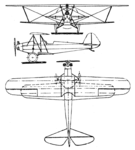 Raab-Katzenstein RK 9 3-view Le Document aéronautique November,1927.png