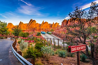 How to get to Radiator Springs Racers with public transit - About the place