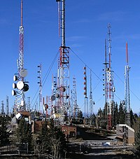 Radio towers on Sandia Peak - closeup.jpg
