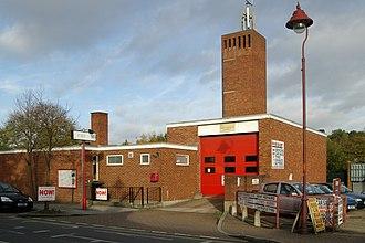 Radlett - Radlett fire station