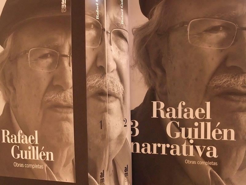 File:Rafael Guillén en portada y lomo de sus Obras Completas.jpeg