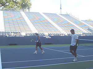 Rafael Nadal With His Coach Uncle Toni During ...