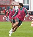 Rafinha Mats Hummels Training 2019-04-10 FC Bayern Muenchen-1.jpg