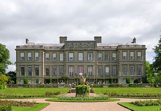 Ragley Hall - Image: Ragley Hall from the south west 2006