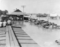 Railroad Station in Egremont, Mississippi during 1927 flood.png
